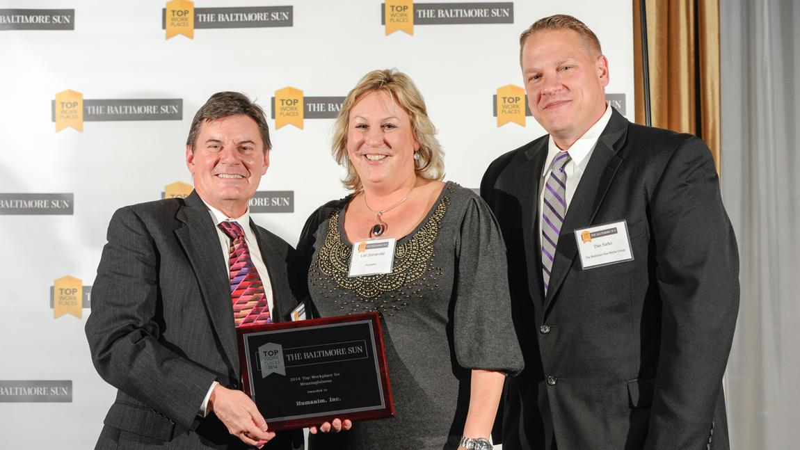 Humanim received Top Workplace Award 2014!