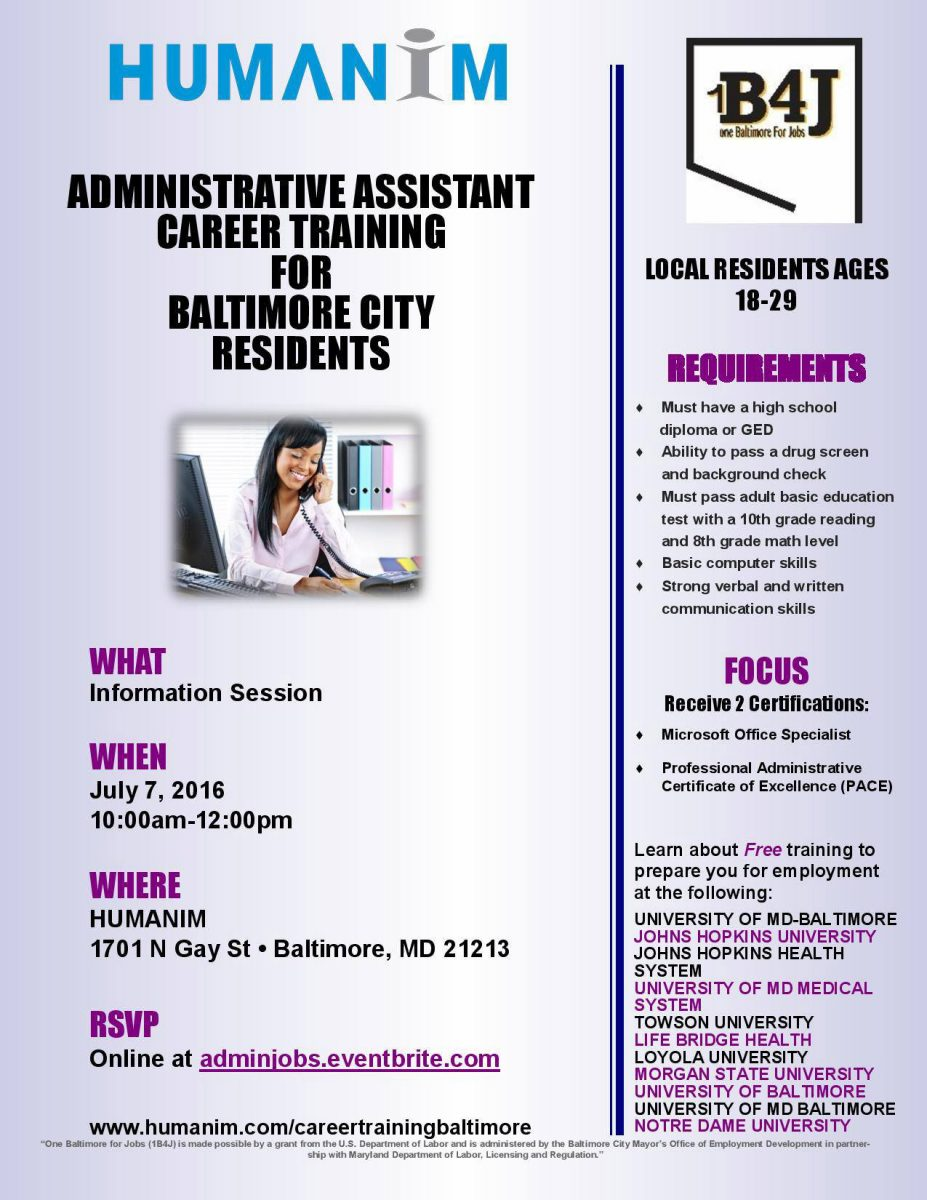 Become A Certified Administrative Professional Humanim