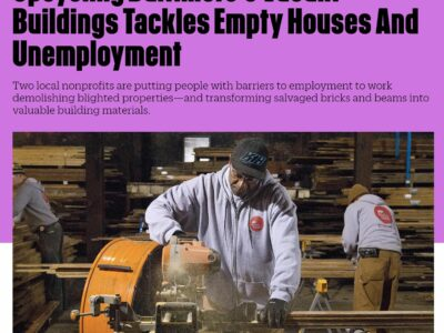 Our Social Enterprises Details & Brick+Board in the News