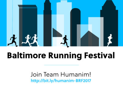 Humanim at the Baltimore Running Festival 2017
