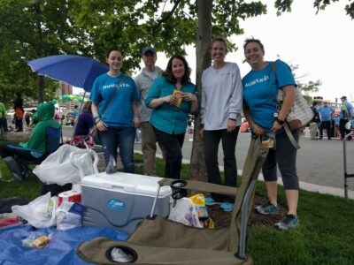 Team Humanim at Nami Walk 2017