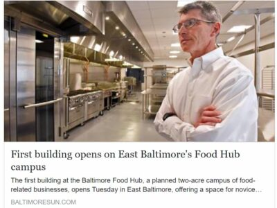 City Seeds Moves to the Baltimore Food Hub Campus