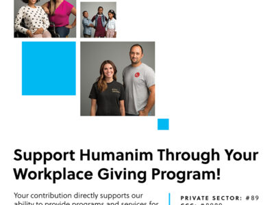 Support Humanim Through Workplace Giving