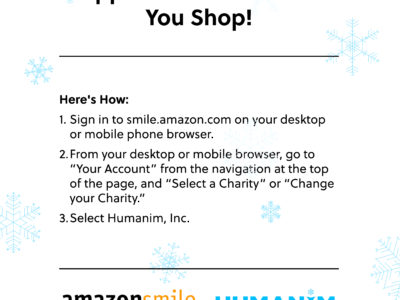 Support Humanim While You Shop!