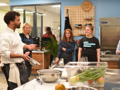 School of Food Launches New Culinary Classes & Website