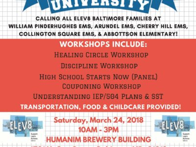 Event: Elev8's Parent University