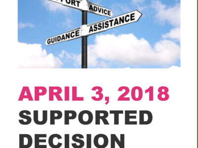 Event: Supported Decision Making