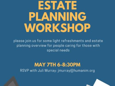 Event: Estate Planning for Those With Special Needs