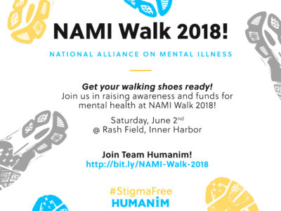 Join Team Humanim for NAMI Walk 2018!