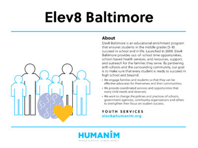 Program Spotlight: Elev8 Baltimore