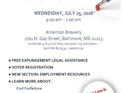 Event: Back to the Neighborhood Expungement Clinic