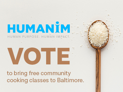 Help Us Bring Free Community Cooking Classes to Baltimore!