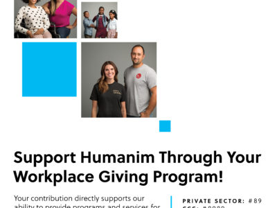 Support Humanim Through Your Workplace Giving Program