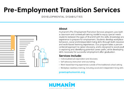 Program Spotlight: Pre-Employment Transition Services