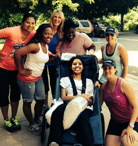 Humanim and Athletes Serving Athletes team up!