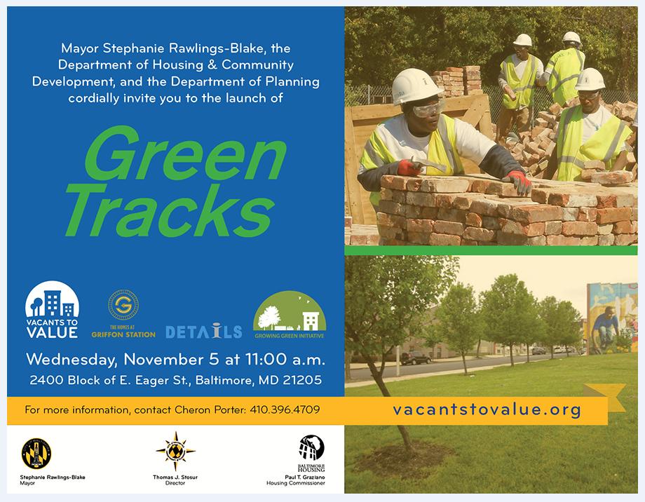 Mayor Stephanie Rawlings-Blake visits DETAILS work site 11/5/2014