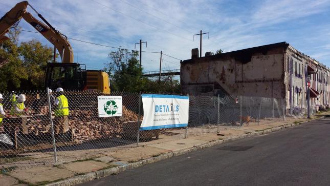 Deconstruction Versus Demolition: