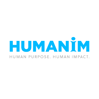 Humanim Logo With Tagline On White Preview