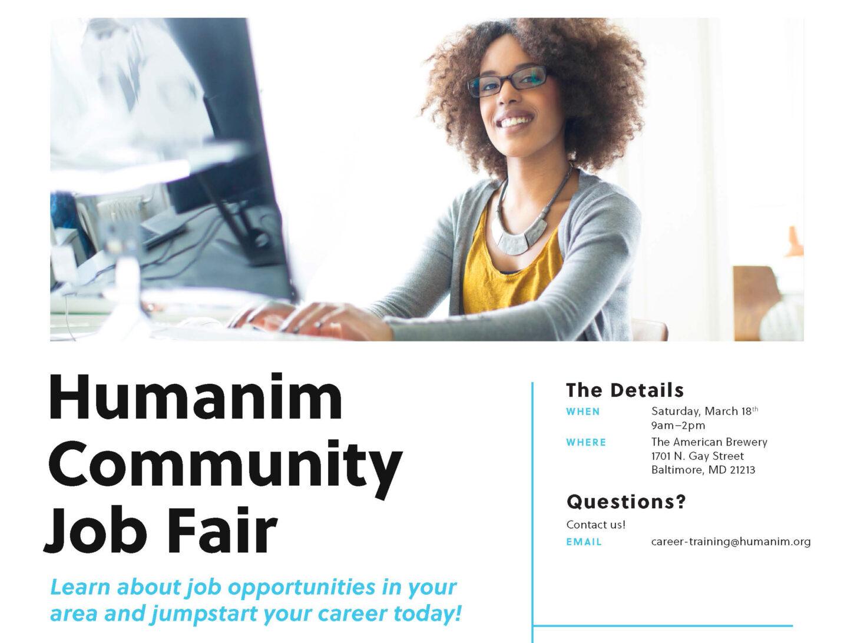 Humanim Community Job Fair