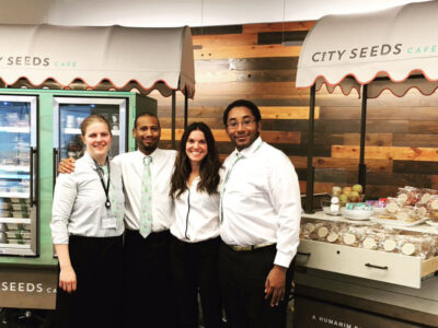 Humanim Social Enterprise City Seeds Opens Its Cafes
