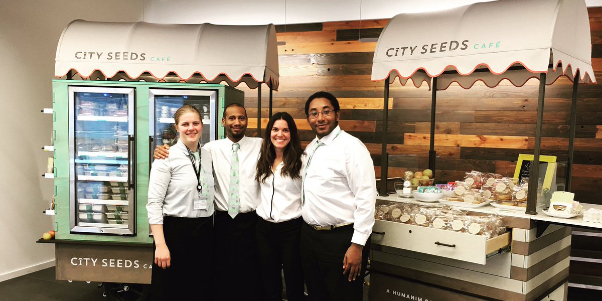 Humanim Social Enterprise City Seeds Opens Its Cafes