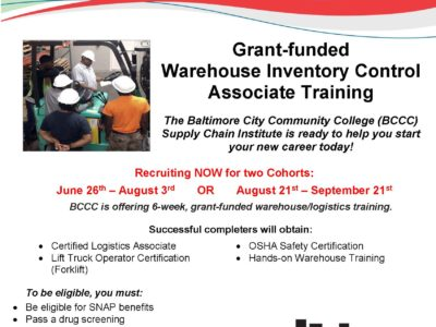 Free Warehouse Inventory Training
