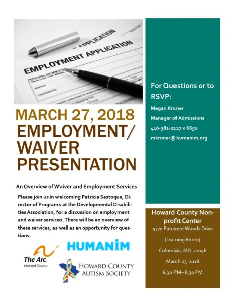 DD Employment Waiver Event 464x600