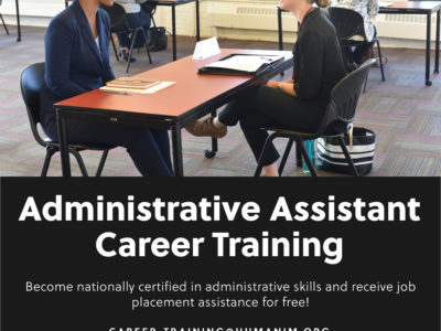 Free Administrative Assistant Career Training