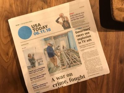 USA Today Highlights Humanim Collaboration: The Baltimore Wood Project