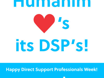 Happy Direct Support Professionals Recognition Week!