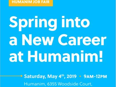 Humanim Spring Job Fair