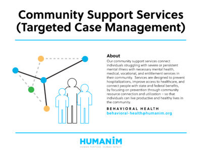 Program Spotlight: Community Support Services