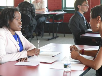 Admin Career Training Program Participates in Mock Interview Event