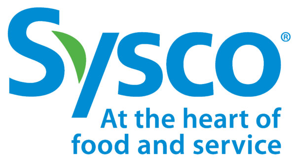 Sysco Logo At The Heart Color CMYK Stacked 600x332