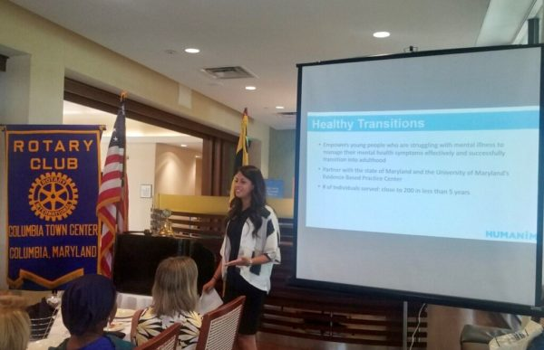 Humanim Visits Columbia Town Center Rotary Club – Humanim