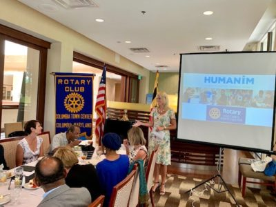 Humanim Visits Columbia Town Center Rotary Club