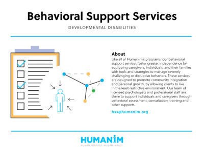 Program Spotlight: Behavioral Support Services