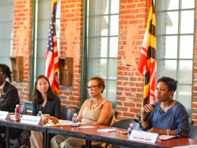 Elijah Cummings Hosts Forum on Childhood Trauma at Humanim's American Brewery Building