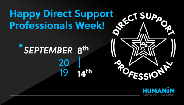 Direct Support Professional Recognition Week Linkedin 600x343