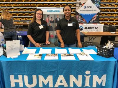 Humanim at Towson University's Job and Internship Fair