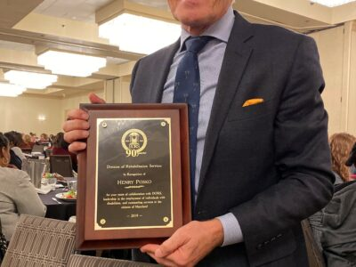 Maryland Division of Rehabilitation Services Recognizes Humanim's President & CEO, Henry Posko