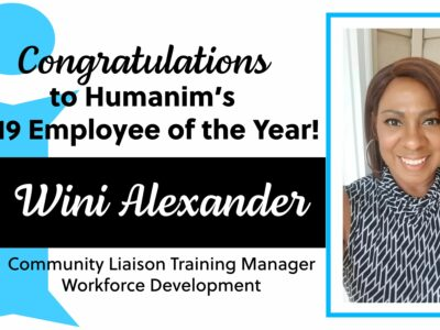 Humanim's Employee of the Year – Wini Alexander