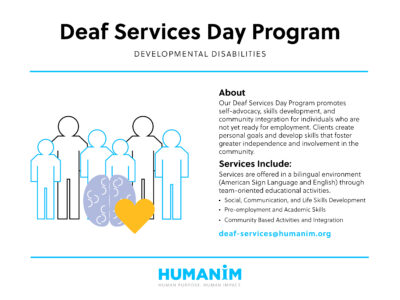 November Program Spotlight: Deaf Services Day Program