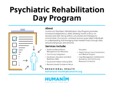 December Program Spotlight: Psychiatric Rehabilitation Day Program