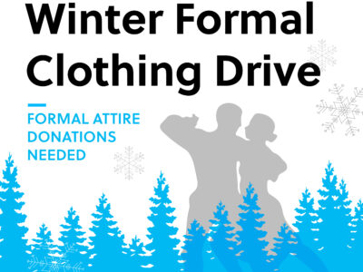 Winter Formal Clothing Drive