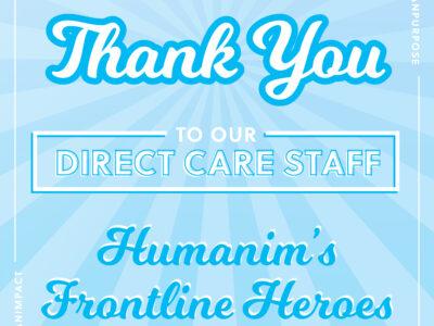 Honoring Humanim's Frontline Heroes