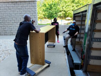 Humanim Receives Office Equipment Donation from Brown-Forman