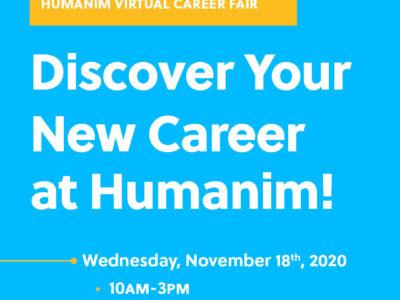 Humanim Virtual Career Fair 2020