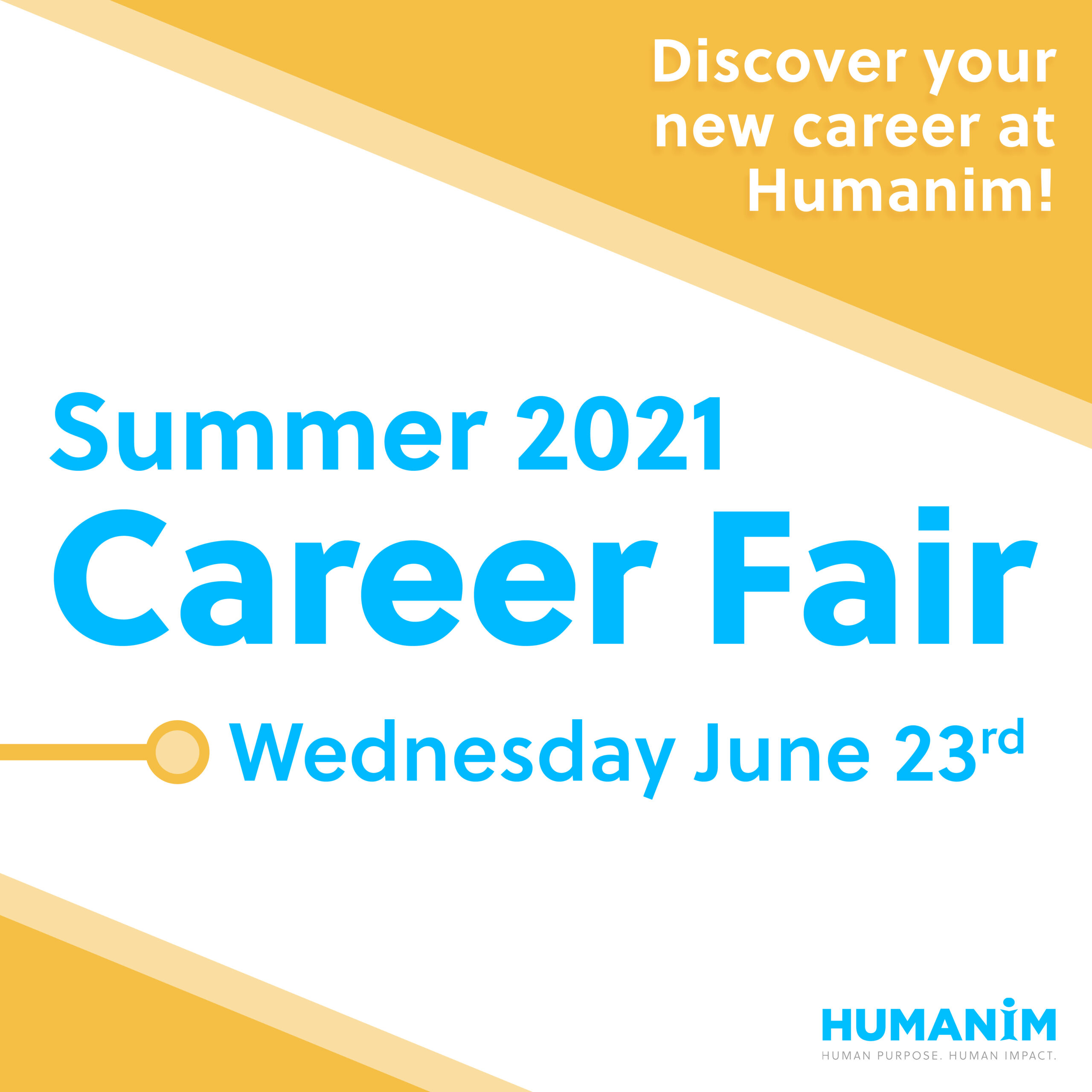 Summer 2021 Career Fair