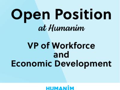 Now Hiring: Vice President of Workforce & Economic Development.